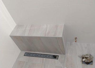 Installations de tuiles en céramique salle de bain à Joliette - Carrelage K2 Inc. Poseur de céramique à Joliette et ses environs